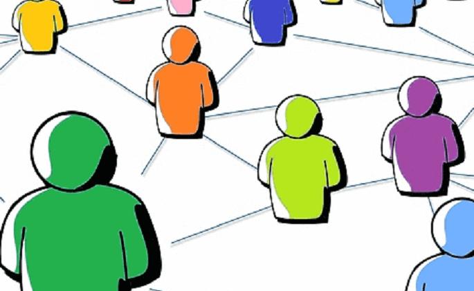 社内コミュニケーション活性化施策「縦・横・全体のつながり」